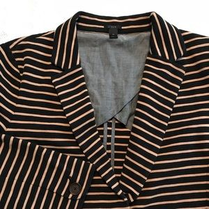 J. Crew Jackets & Coats - J.Crew Maritime Blazer in Black and Tan